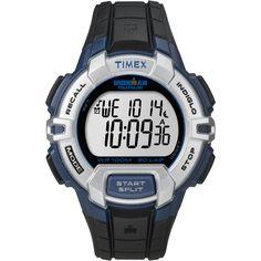 Timex Ironman 30-Lap Rugged Full-Size Watch - Black/Blue [T5K791]