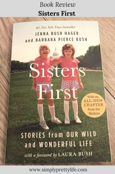 Twins, Jenna Bush (Hager) and Barbara Bush (Pierce), tell their personal stories spanning from early childhood to adulthood, which always relate back to their special bond as sisters. Barbara Pierce Bush, Barbara Bush, Jenna Bush Hager, Best Face Products, Facial Products, Beauty Care, Beauty Skin, Natural Beauty Tips, Book Recommendations
