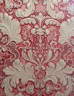 Lincrusta subtractive texturing (exquisitely fancy & expensive borders, friezes & wallcoverings)