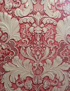 Lincrusta subtractive texturing (exquisitely fancy & expensive borders, friezes & wallcoverings)