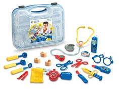 Toy Medical Kits - Learning Resources Pretend  Play Doctor Set *** Want to know more, click on the image.