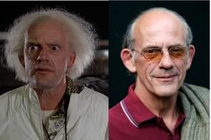 "Christopher Lloyd as Dr. Emmett ""Doc"" Brown 