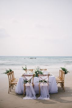Dreamy beach style wedding: http://www.stylemepretty.com/destination-weddings/2016/08/25/dreamy-beach-wedding-style-session-at-celebrity-destination/ Photography: Darinimages - http://www.darinimages.com/
