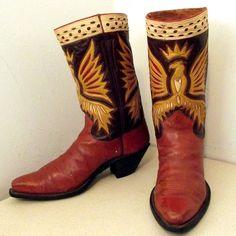 Gorgeous Vintage Nocona Cowboy Boots!