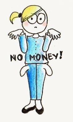 no money, puste kieszenie