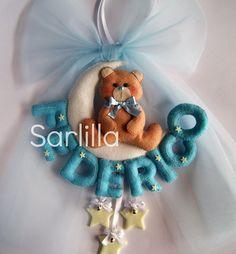 Le creazioni di Sarlilla: Fiocchi nascita per Federico e Mattia.. ♥