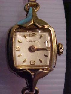 Mother & Kids Modest Vintage Helbros Chinese Jade Pendant Watch