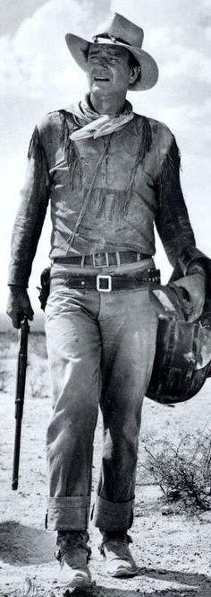 John Wayne (a man to look up to) http://www.dunway.com/: