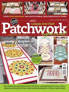 Artesanato - Apliquê - Patchwork : COL ARTE FACIL PATCHWORK ESP 041 - Editora Minuano
