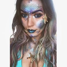 Halloween 2016: The Best Mermaid Makeup Tips From Instagram Beauty Stars | Glamour