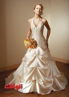 فساتين زفاف جميله صور فساتين زفاف جديده لاحلى عروسة