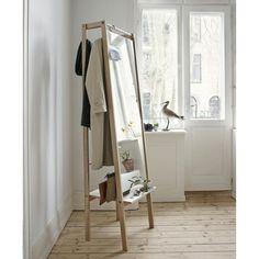 Skagerak - Push Clothes Hanger With Mirror