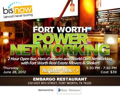 Fort Worth Power Networking at Embargo