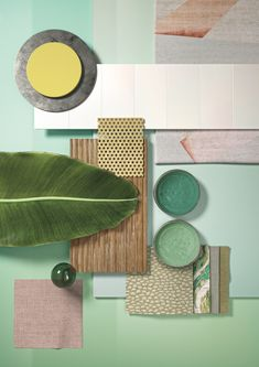 A moodboard is always an inspiration to interior design! Office Inspiration, Color Inspiration, Moodboard Inspiration, Inspiration Boards, Office Ideas, Colour Schemes, Color Trends, Color Palettes, Interior Tropical