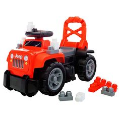 Jeep 3-in-1 Ride-On (Red) | Mattel