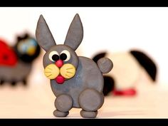 New videos on David Marseilles Creative School - . Hi friends! Today we'll make a Plasticine Hare. This is a good clay craft ideas. You should choose the material for modeling yourself: play doh Clay Crafts For Kids, Diy For Kids, Pottery Lessons, How To Make Clay, Diy Projects To Sell, Diy Easter Decorations, Clay Ornaments, Hare, Health Motivation