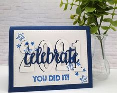 Tarjetas Stampin Up, Stampin Up Cards, Graduation Cards Handmade, Graduation Ideas, Beautiful Handmade Cards, Kids Cards, Wedding Cards, Birthday Cards, Card Making