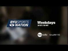 BYU Sports Nation airs weekdays at 12ET/10MT!