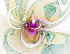 Beautiful hand drawn fractal designs from British artist Mandy Moore