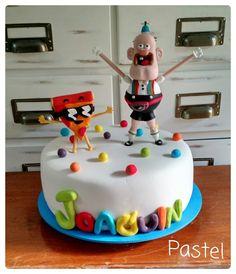 Uncle Grandpa's birthday cake