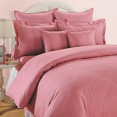 Pink Possession Fitted Bed Sheet, Sonata Classic Coral