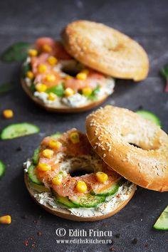 Bautura racoritoare cu kiwi - Edith's Kitchen Edith's Kitchen, Bagel, Kiwi, Cheesecake, Bread, Breakfast, Food, Pineapple, Morning Coffee