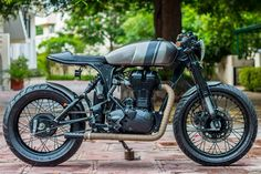 Royal Enfield Classic 500cc Cafe Racer by Rajputana Customs - ThrottleQuest