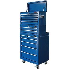 Excel 12 Drawer Ball Bearing Tool Chest Cabinet Combo Tool Shop Dream