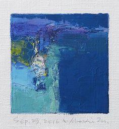 Se trata de una Original pintura al óleo abstracta por Hiroshi Matsumoto  Título: Septiembre 29, 2016 Tamaño: 9,0 x 9,0 cm (aprox. 4 x 4) Al tamaño del lienzo: 14,0 x 14,0 cm (aprox. 5,5 x 5,5 pulg.) Medios: Óleo sobre lienzo Año: 2016  Esta es mi pintura cotidiana llamada pintura de 9 x 9 y el título es la fecha de esta pintura que he creado.  Pintura viene con halos.  Pintura se mate en blanco para marco de 8 x 10 pulgadas estándar (no incluido) y se envía con certificado de autenticidad…