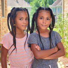 Braids For Black Women, Braids For Black Hair, Little Girl Hairstyles, Black Women Hairstyles, Mcclure Twins, Nigerian Braids, Latest Braided Hairstyles, Cute Little Girls Outfits, Natural Hair Styles