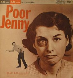 Poor Jenny… She just wouldn't listen. ... .. ... .. ... .. ...more of the Worst Album Covers Ever