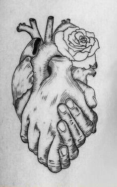 Dark Art Drawings, Art Drawings Sketches Simple, Pencil Art Drawings, Tattoo Sketches, Tattoo Drawings, Heart Pencil Drawing, Drawing Tips, Drawing Drawing, Drawing Faces
