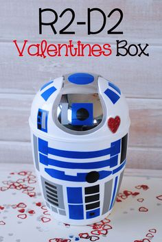 Do you have any Star Wars fans at your house? If so, you are going to love today's Star Wars post. Let me introduce you to our R2-D2 Valentines Box. This adorable character is so quick and easy to create. I had...