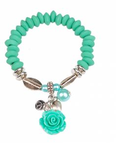 Flower turquoise