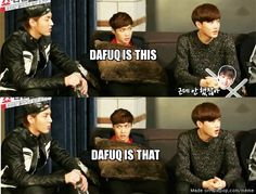 Lay is confused...<-Lay is always confused. Poor confused Lay...<----Maybe someday our unicorn will be healed of Onew condition... :/