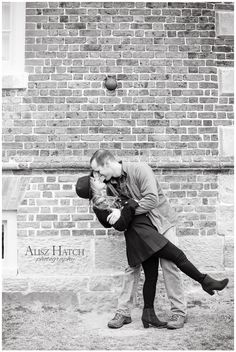 Our beautiful engagement pictures in Yorktown, VA by Alisz Hatch Photography.