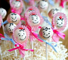 Baby Brownie Pops -SO CUTE for a shower