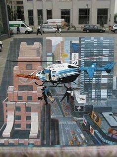 Julian Beever 3D Chalk Drawings by It's just Jack,