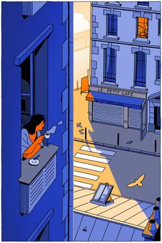 Paris today, From Vincent Mahé : Illustration Art And Illustration, Graphic Design Illustration, Graphic Art, Graphic Prints, Illustrations Posters, Grafik Design, Aesthetic Art, Aesthetic Rooms, Collage Art