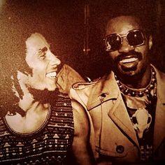 Bob Marley & Stevie Wonder