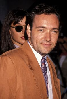 Chasing Spacey • Kevin Spacey and his adorable dimples attend the...