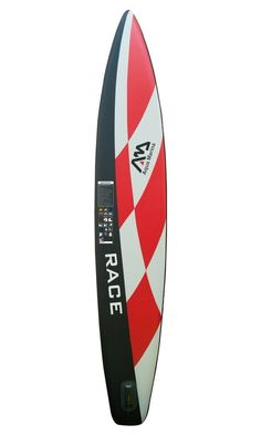 Inflatable 14′ (6″ Thick) Race SUP Stand Up Paddle Board w/ Carbon Paddle