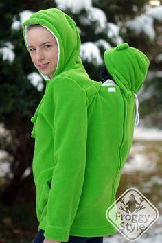 Versatile polar FLEECE baby wearing coat 974a801e2e