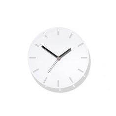 Aperture Clock White. David Weatherhead. ByShop.