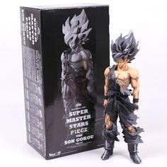 Chocolate Dragon Ball Z Action Figure, Super Saiyan Goku, 14 inches (34cm)