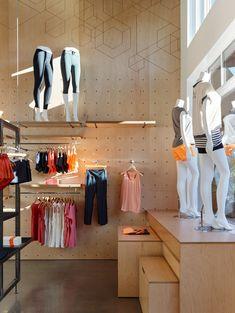 Seattle shop by goCstudio has racks controlled by hand crank