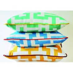 Breezeblock cushions from Xavier & Me - love the colours!!