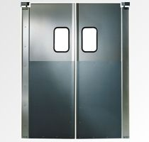 Chase SD 2000 Service Door (Double Acting Service) Chase SD 2000 Series Service Doors weigh significantly less than impact doors, making them easier to open and more popular in light duty applications where low costs and aesthetic appeal are considerations.
