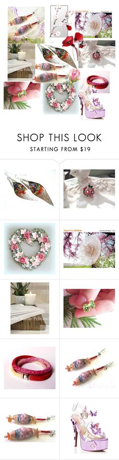 """""""Spring Blossom"""" by anna-recycle ❤ liked on Polyvore featuring Sugarbaby, modern, rustic and vintage"""
