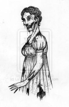 Regency Zombie by ~LaTaupinette on deviantART
